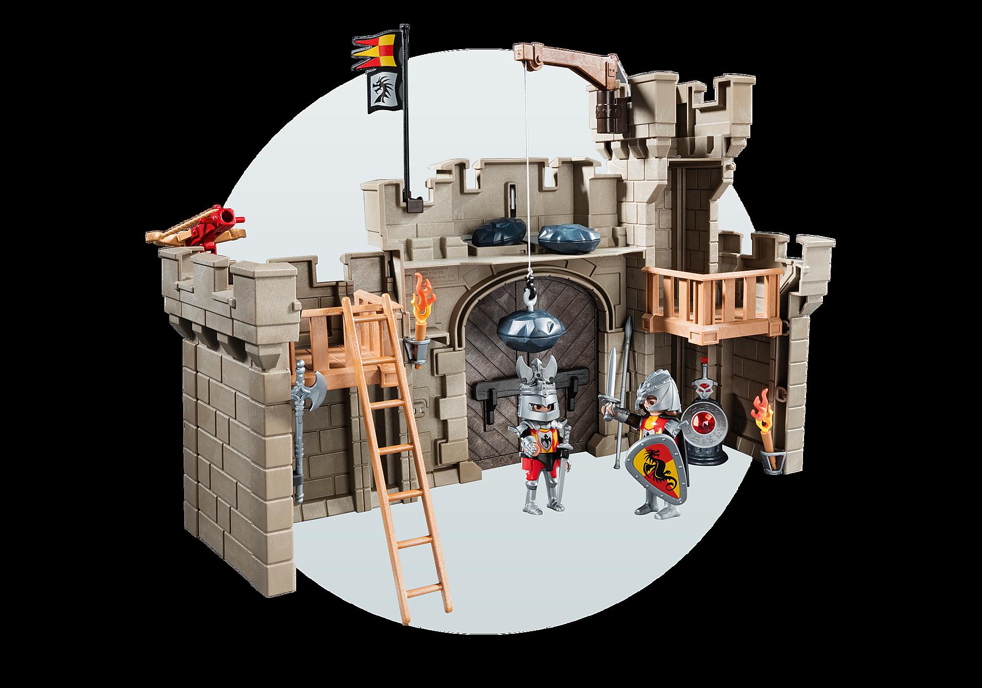 5670 Citadelle des chevaliers avec troll zoom image8