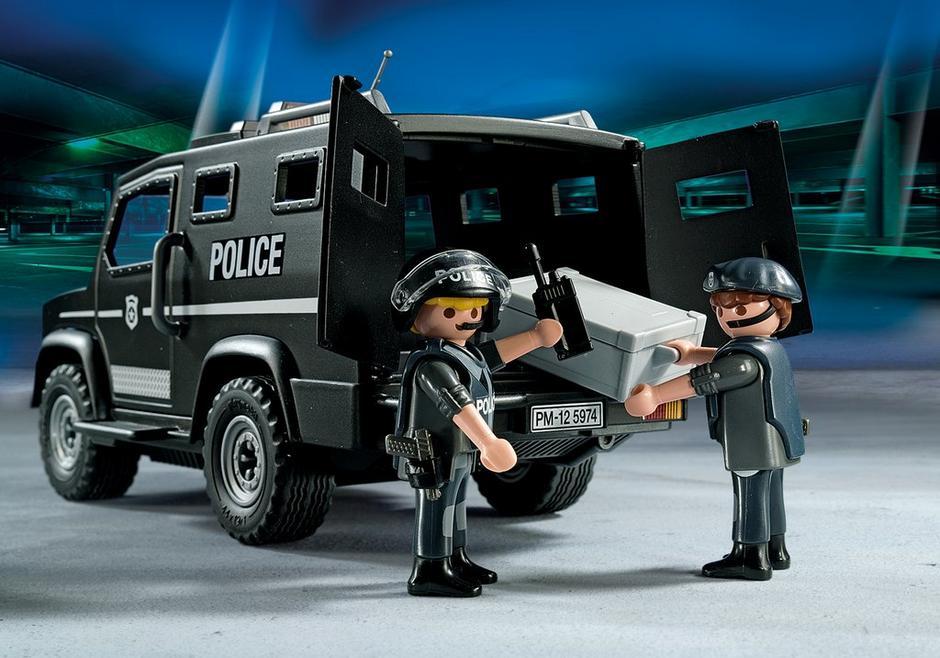 tactical unit car 5674 playmobil usa. Black Bedroom Furniture Sets. Home Design Ideas