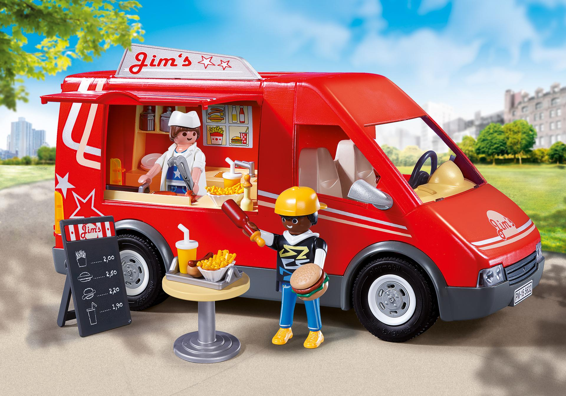 City food truck 5677 playmobil usa for Cuisine playmobil