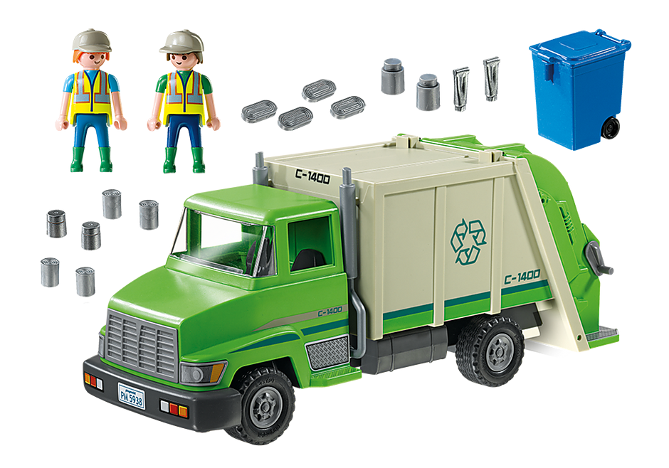 5679 Recycling Truck detail image 3