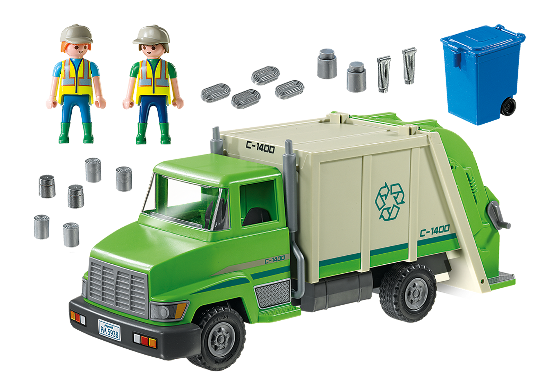 5679 Recycling Truck zoom image3