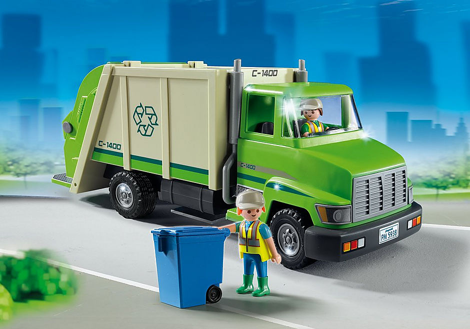 5679 Recycling Truck detail image 1