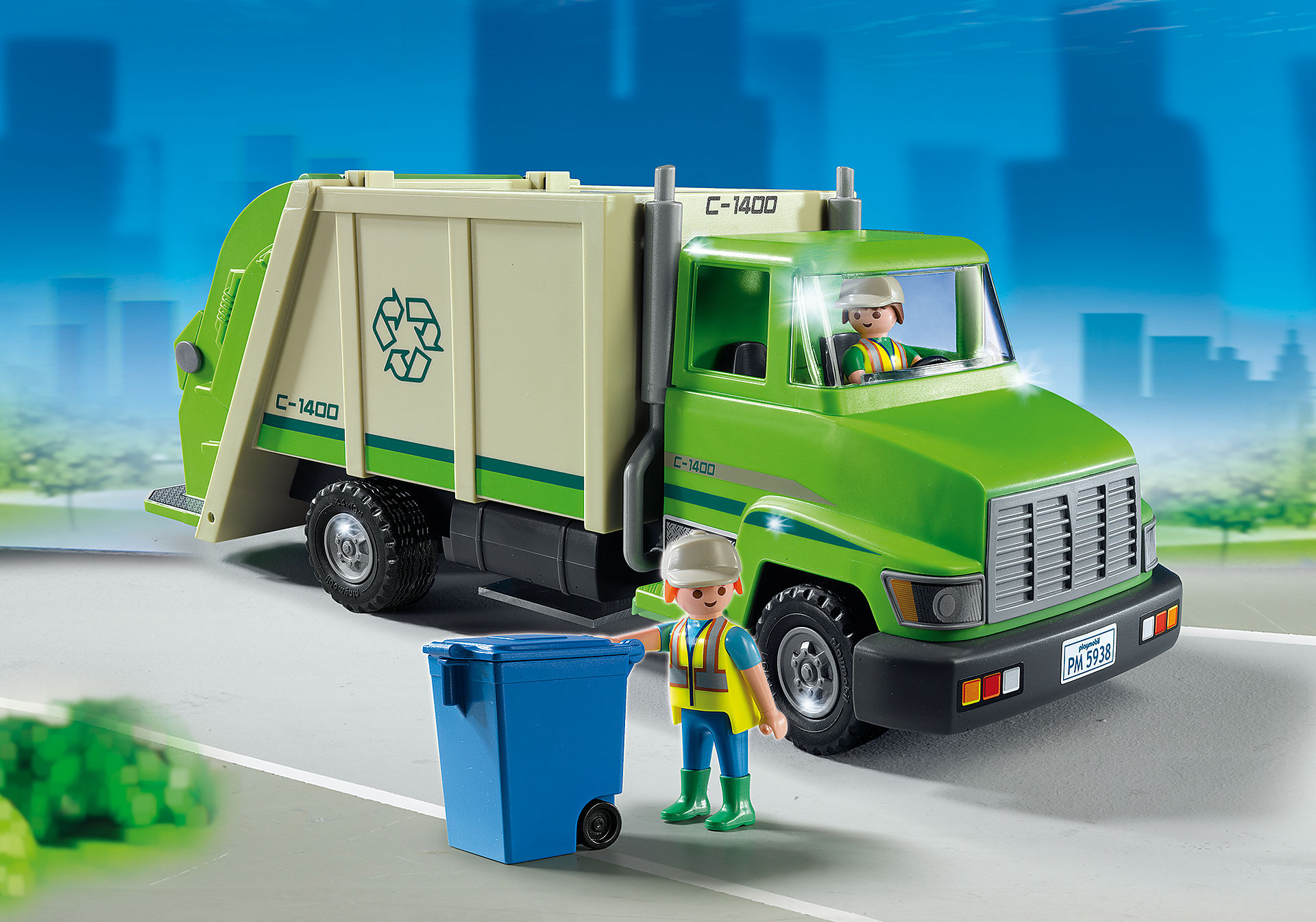5679 Recycling Truck zoom image1