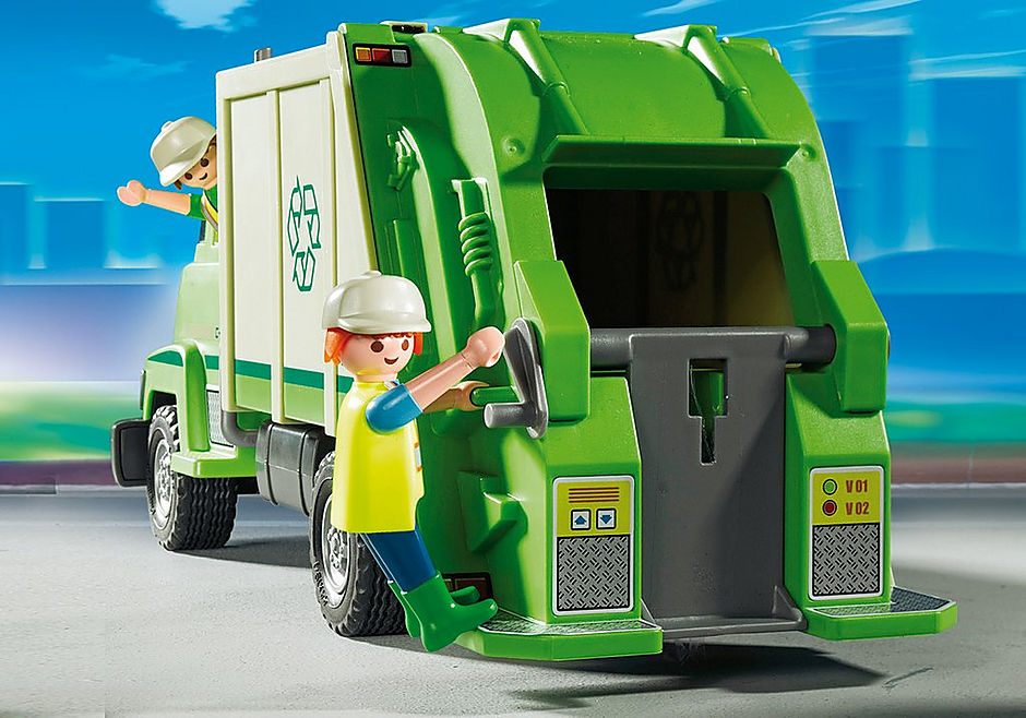 5679 Recycling Truck detail image 4