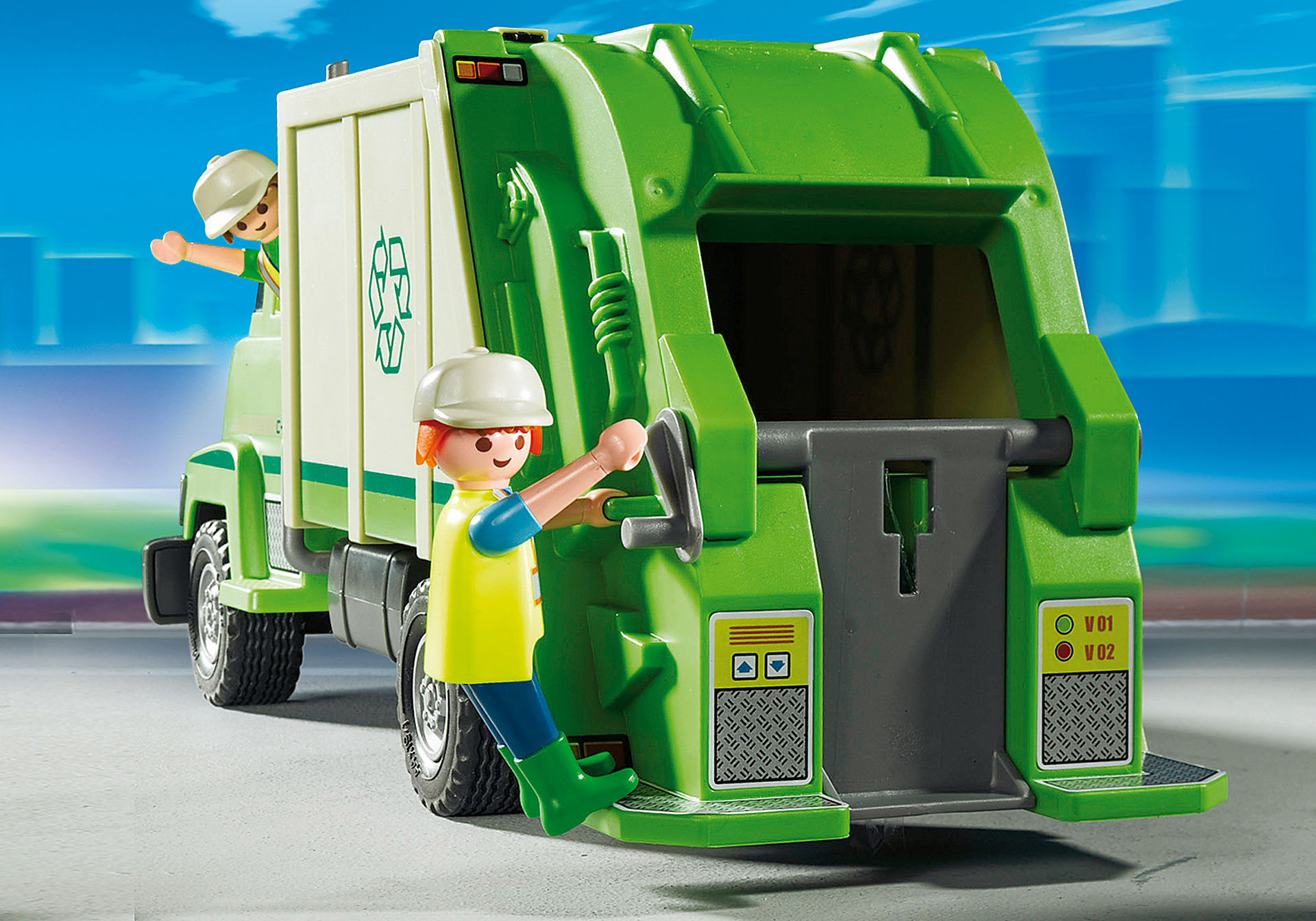 5679 Recycling Truck zoom image4