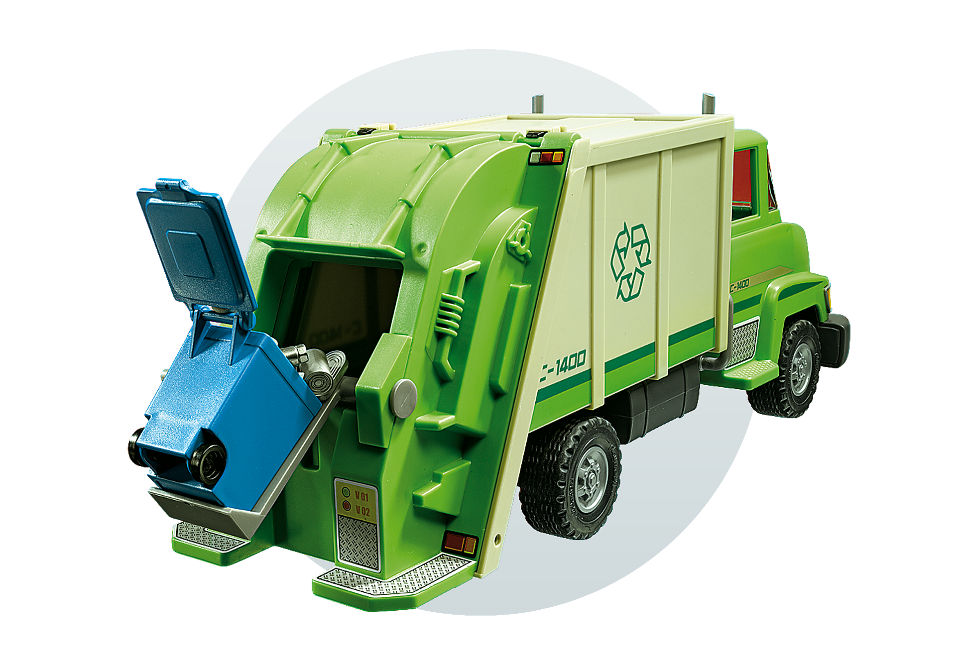 5679 Recycling Truck zoom image6