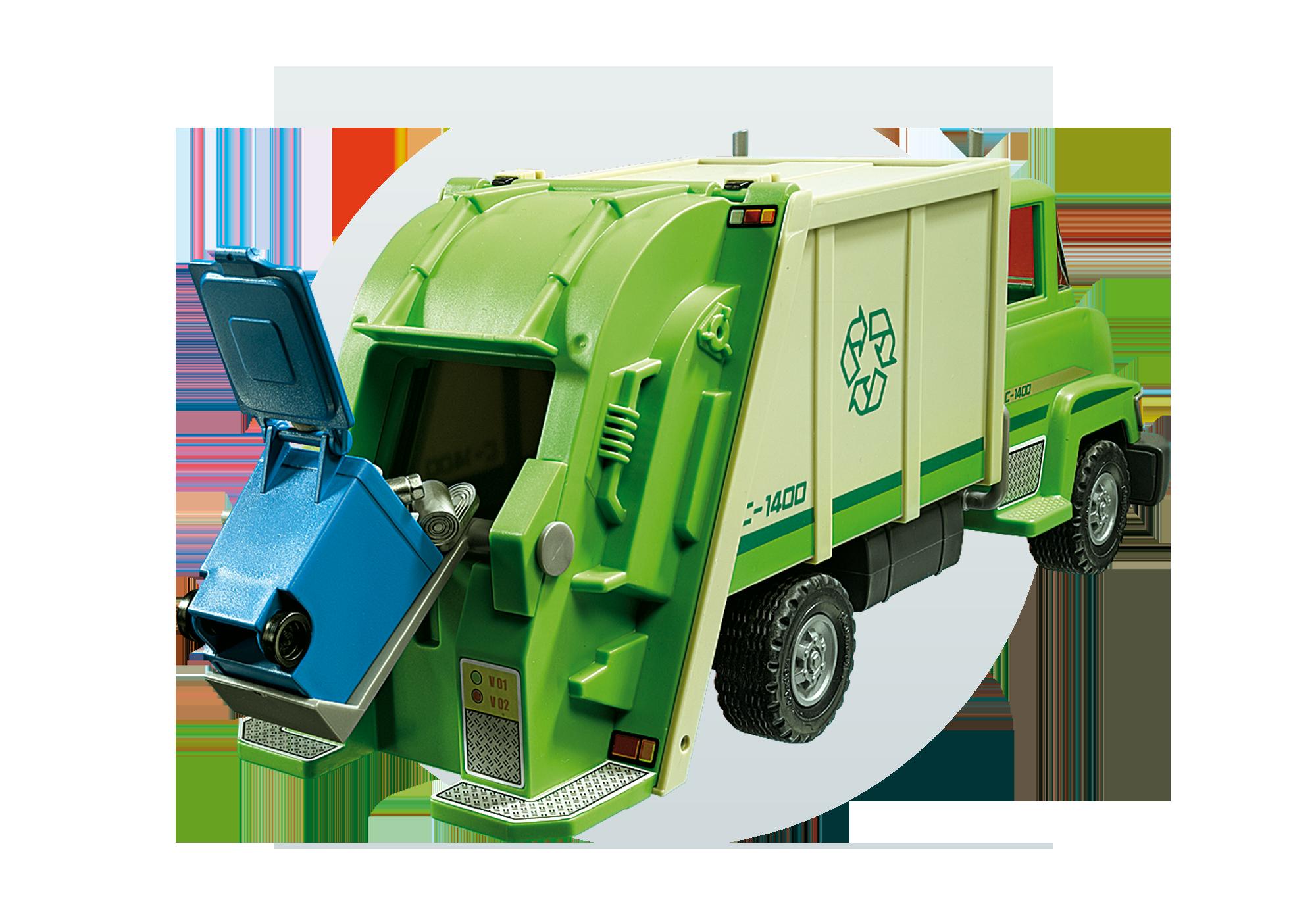 http://media.playmobil.com/i/playmobil/5679_product_extra3/Recycling Truck