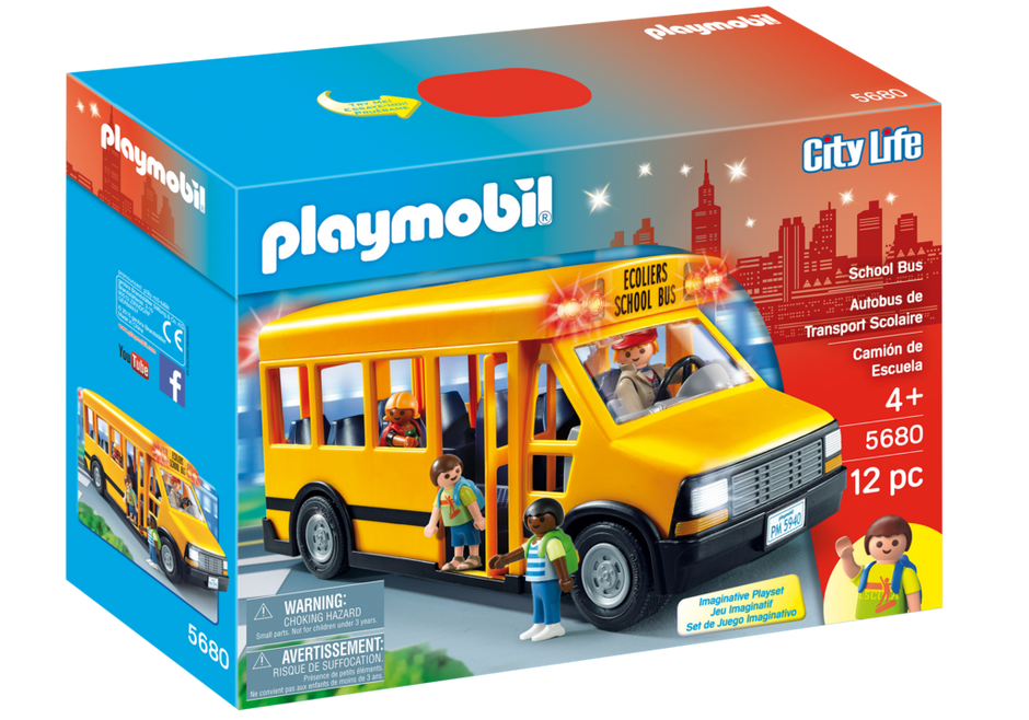School Bus 5680 Playmobil Usa