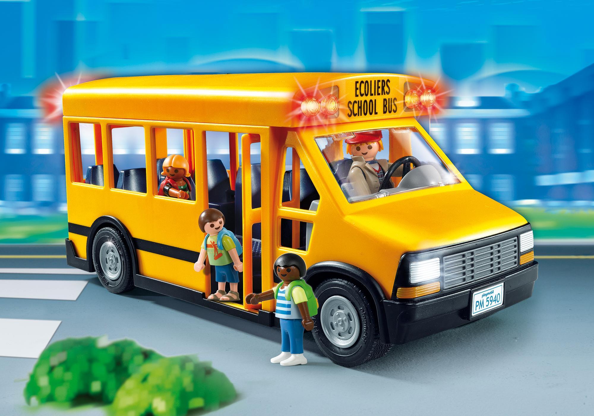 School Bus 5680 Playmobil 174 Usa
