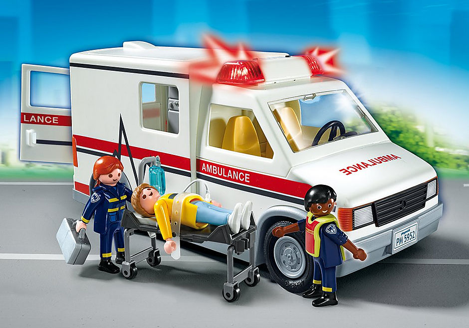 5681 Rescue Ambulance detail image 1