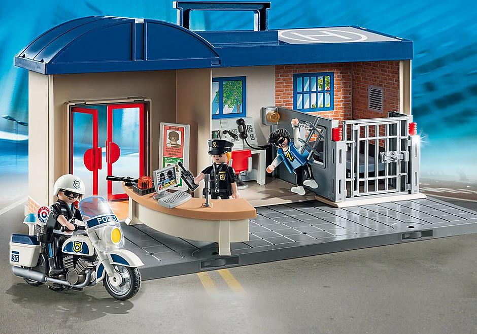 5689 Take Along Police Station detail image 1