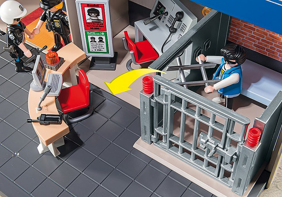 5689 Commissariat de Police Transportable detail image 7