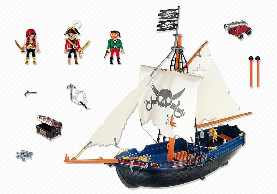 5810 Blauwbaard piratenschip detail image 3