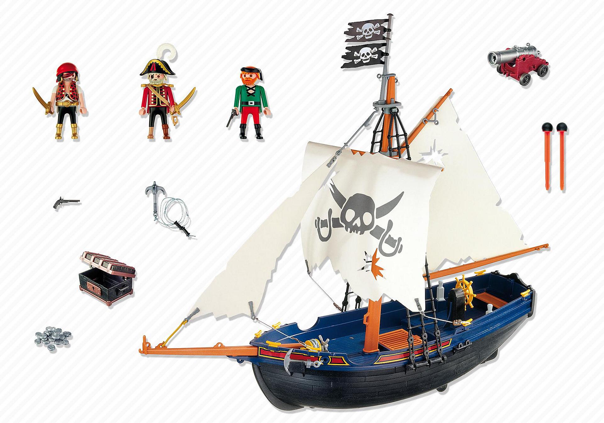5810 Blauwbaard piratenschip zoom image3