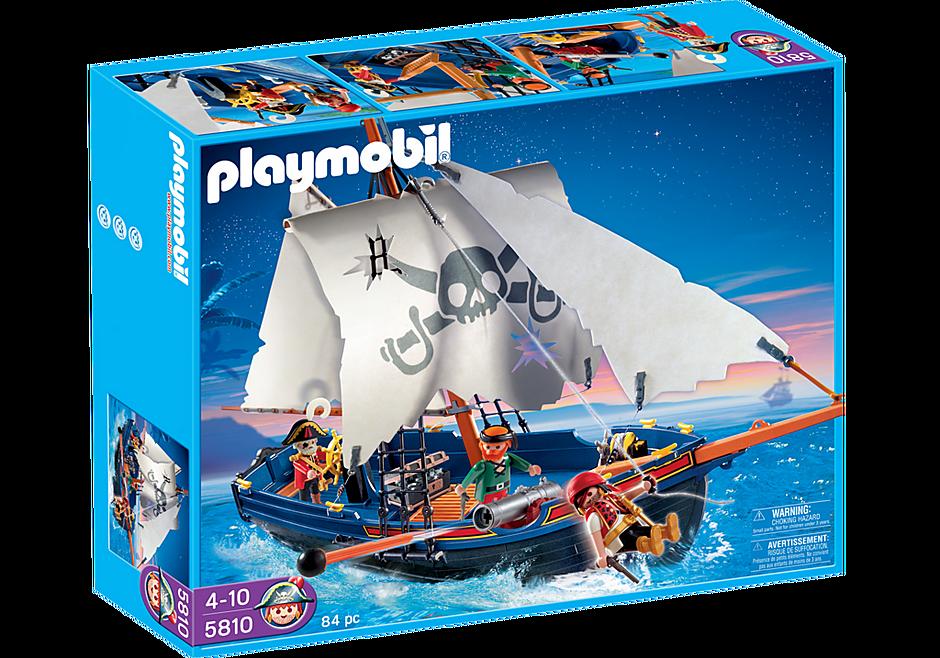 5810 Blauwbaard piratenschip detail image 2