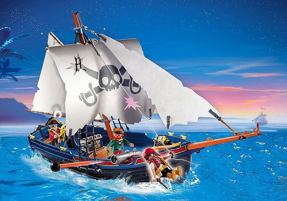 5810 Blauwbaard piratenschip detail image 1