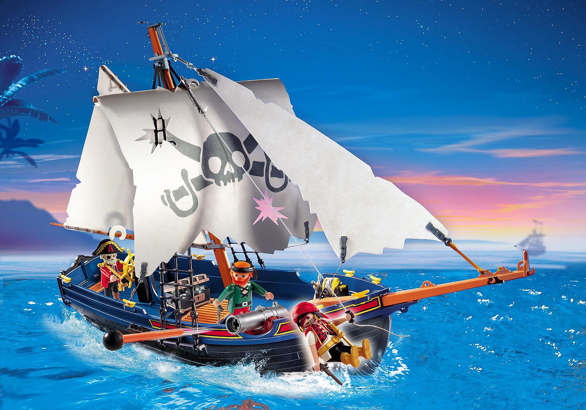 5810 Blauwbaard piratenschip zoom image1