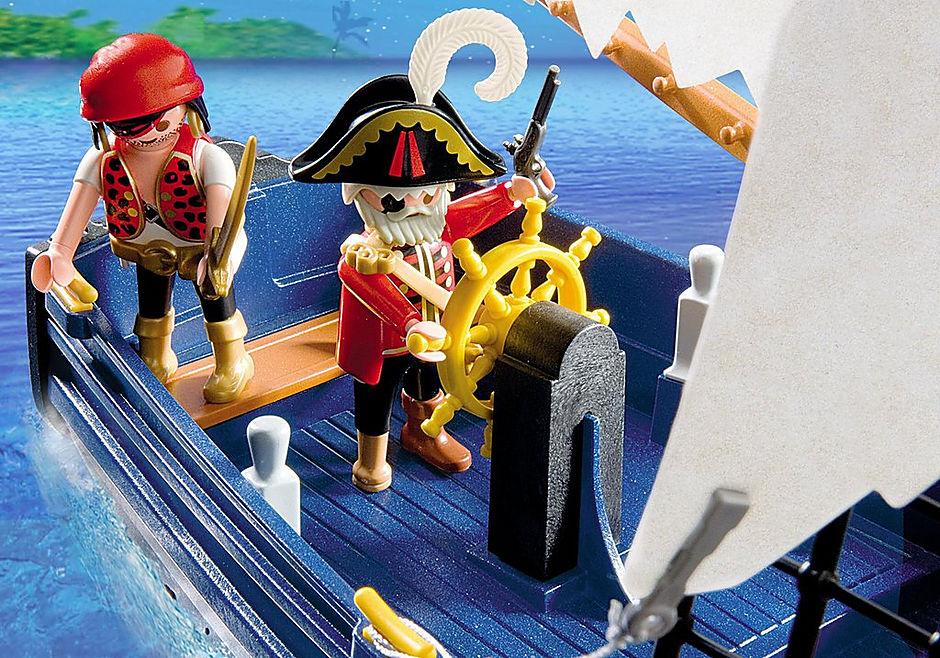 5810 Blauwbaard piratenschip detail image 6