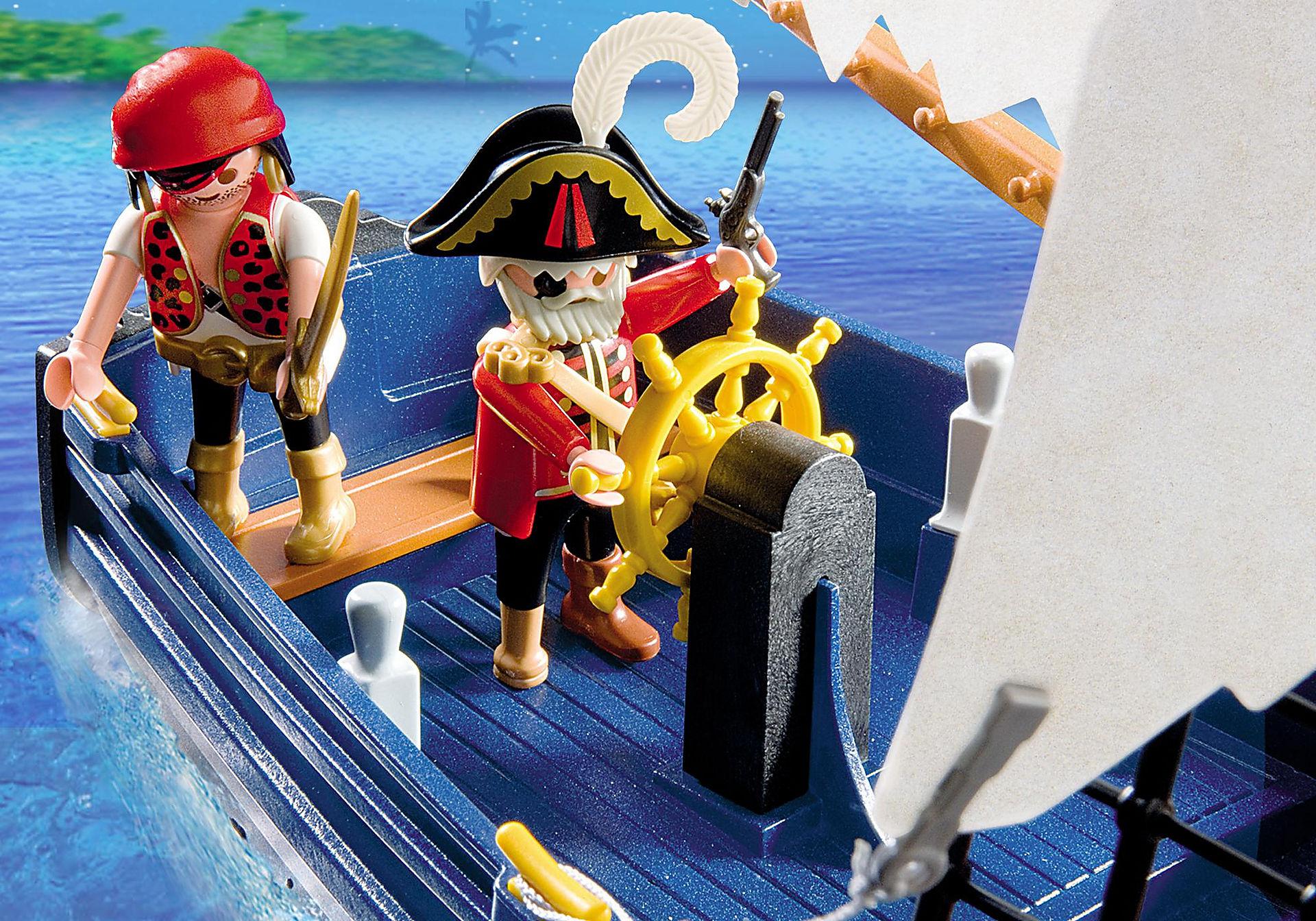 5810 Blauwbaard piratenschip zoom image6
