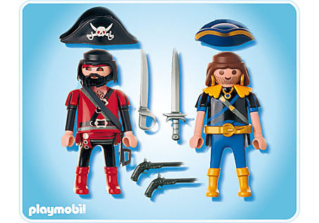 5814-A PLAYMOBIL Duo Pirate et corsaire detail image 2
