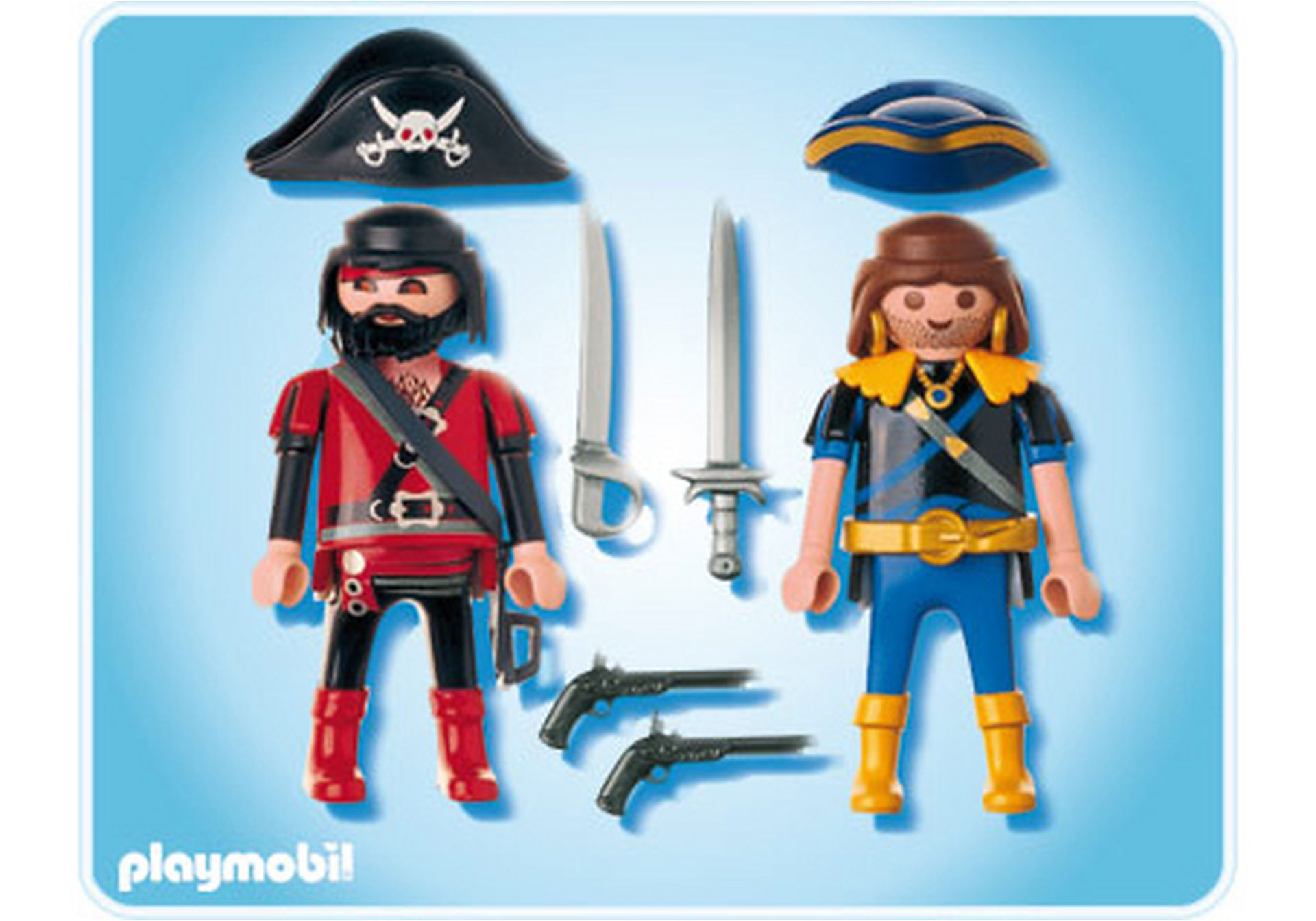 5814-A PLAYMOBIL Duo Pirate et corsaire zoom image2