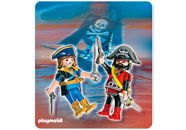 5814-A PLAYMOBIL Duo Pirate et corsaire detail image 1