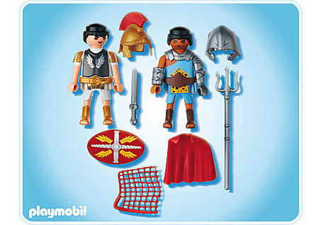 5817-A PLAYMOBIL Duo Tribun et gladiateur detail image 2