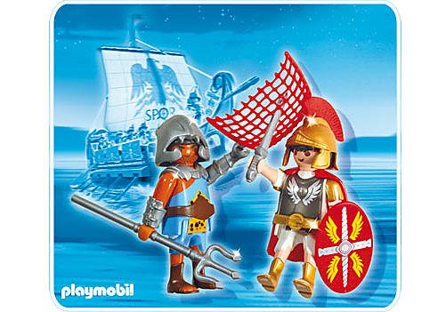 5817-A Tribun und Gladiator detail image 1