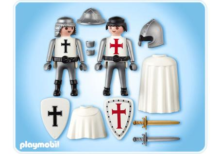 Duo pack french knight and crusader 5825 a playmobil for Playmobil basteln