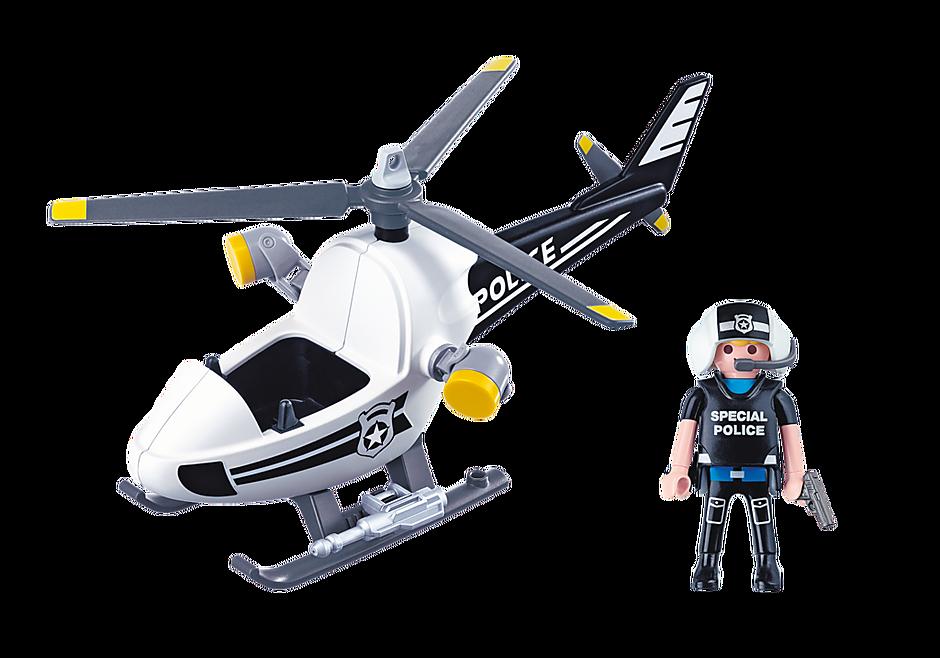 5916 Hélicoptère monoplace de police detail image 3