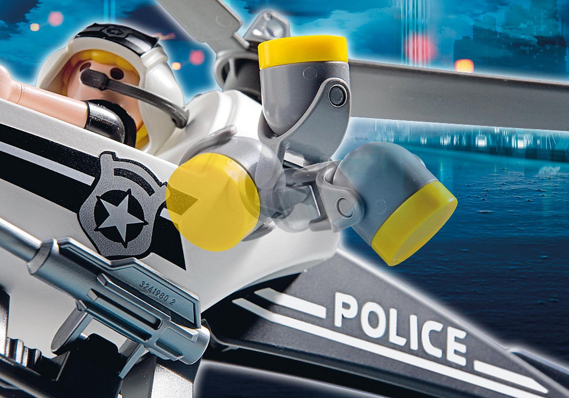 5916 Hélicoptère monoplace de police zoom image5
