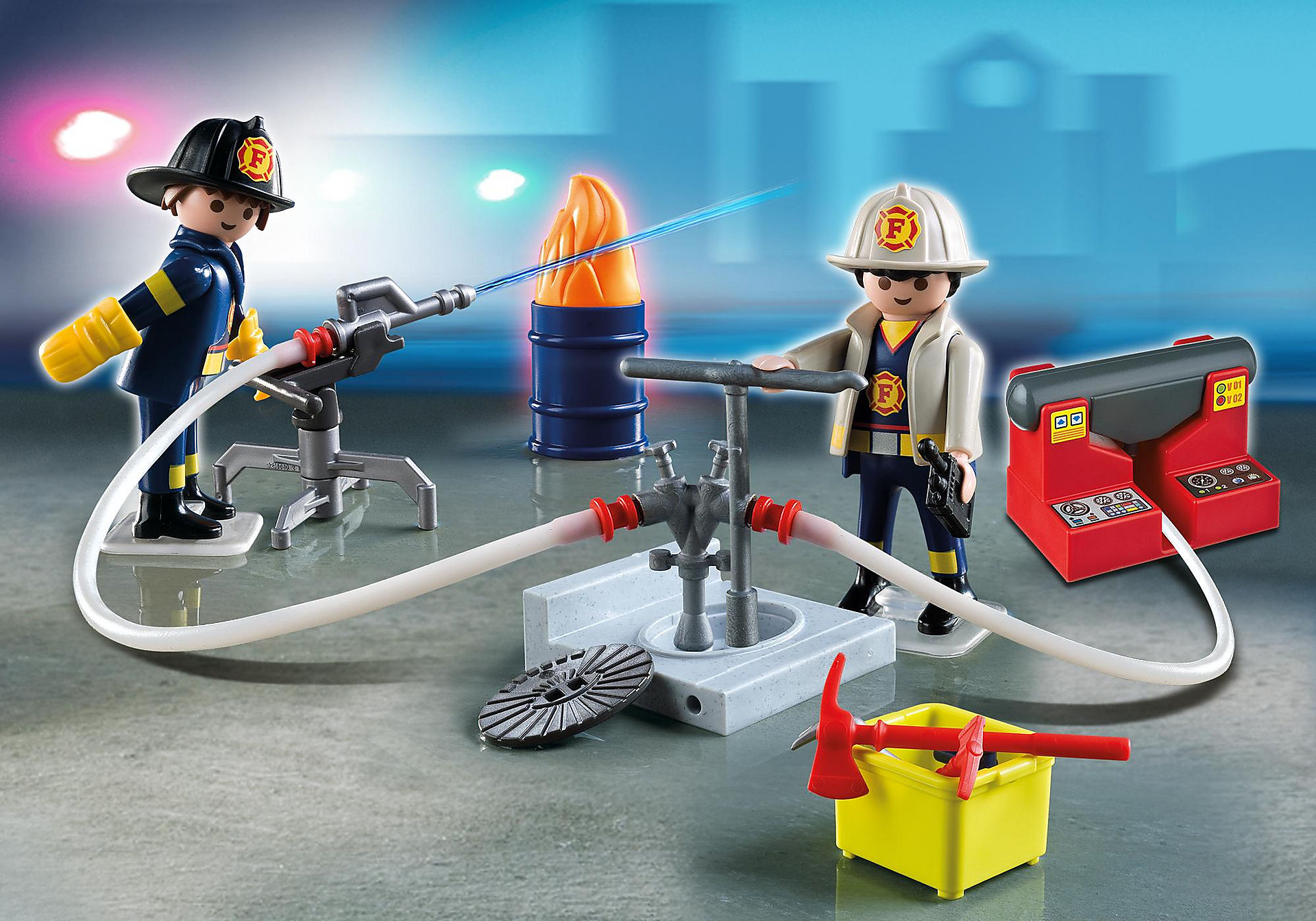 5973 Carrying Case Firemen zoom image1