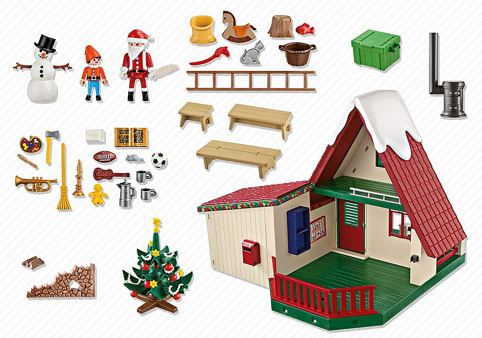 5976 Bij de Kerstman thuis detail image 4