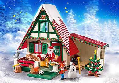 5976 Zuhause beim Weihnachtsmann