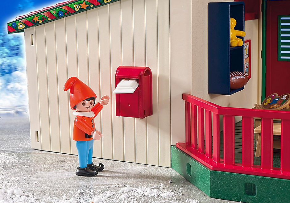 5976 Maisonnette du Père Noël detail image 5