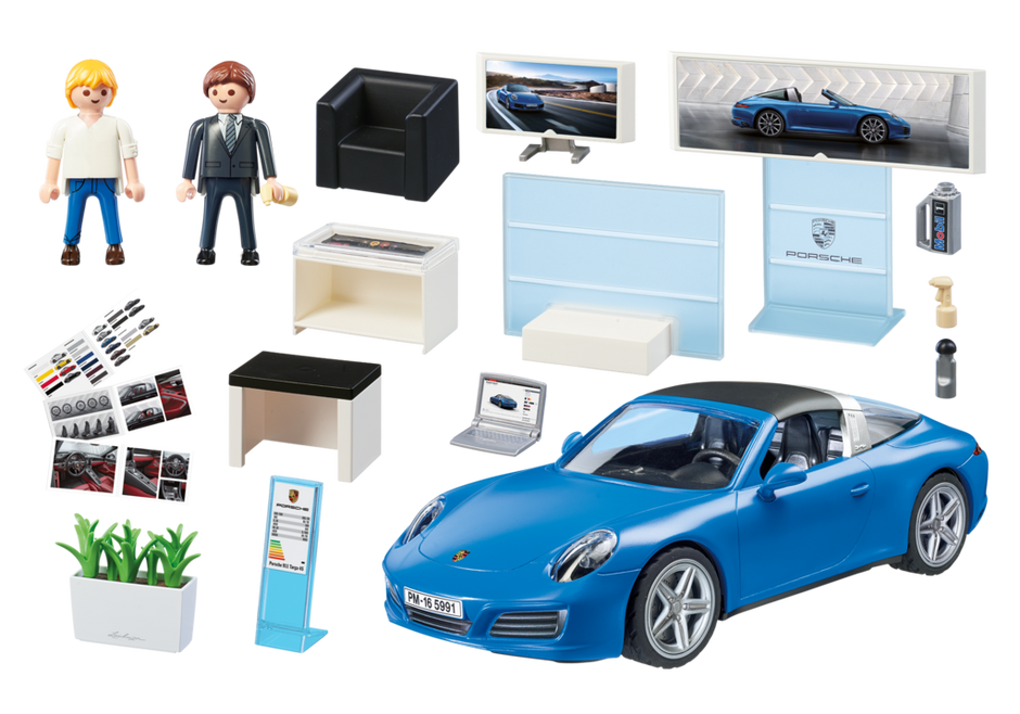 porsche 911 targa 4s 5991 playmobil france. Black Bedroom Furniture Sets. Home Design Ideas