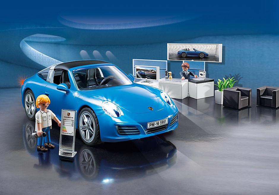5991 Porsche 911 Targa 4S detail image 1