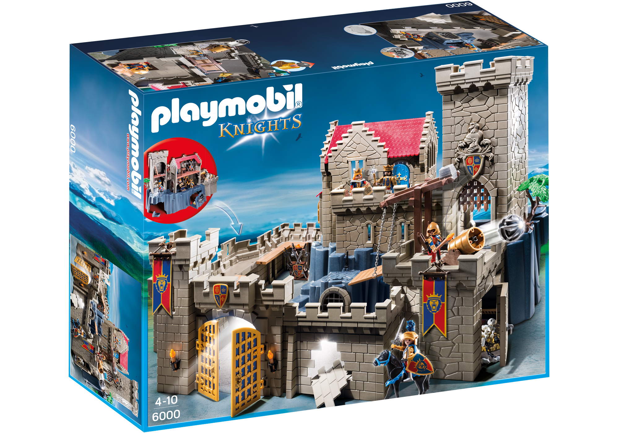 http://media.playmobil.com/i/playmobil/6000_product_box_front/Рыцари: Королевский замок Рыцарей Льва