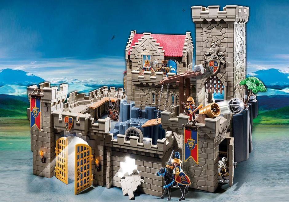 Ch teau des chevaliers du lion imp rial 6000 playmobil - Chateau chevalier playmobil ...