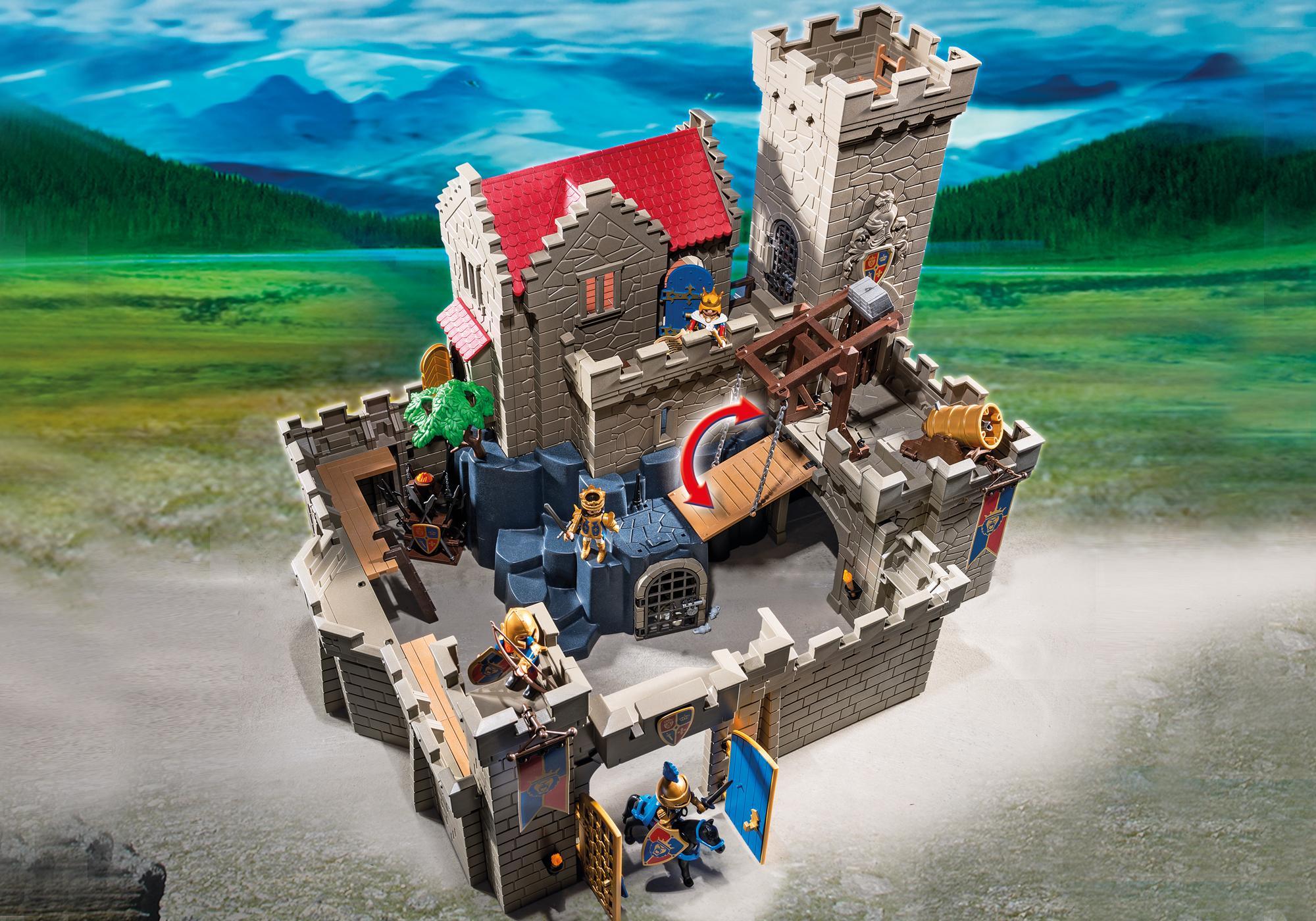 http://media.playmobil.com/i/playmobil/6000_product_extra2/Château des chevaliers du Lion Impérial