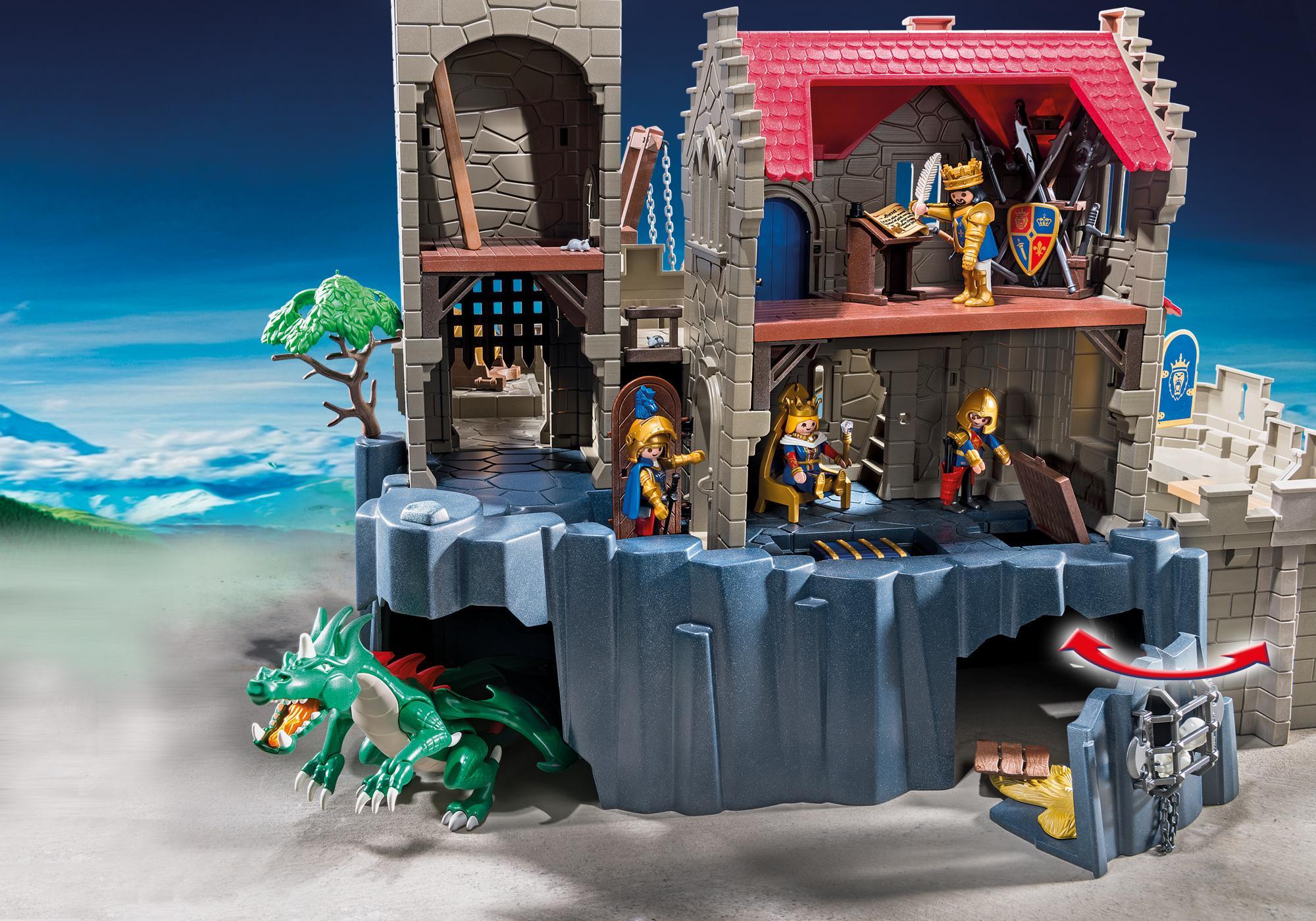 http://media.playmobil.com/i/playmobil/6000_product_extra5/Château des chevaliers du Lion Impérial