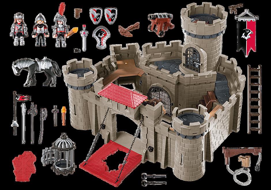 http://media.playmobil.com/i/playmobil/6001_product_box_back/Рыцари: Замок Рыцарей Ястреба
