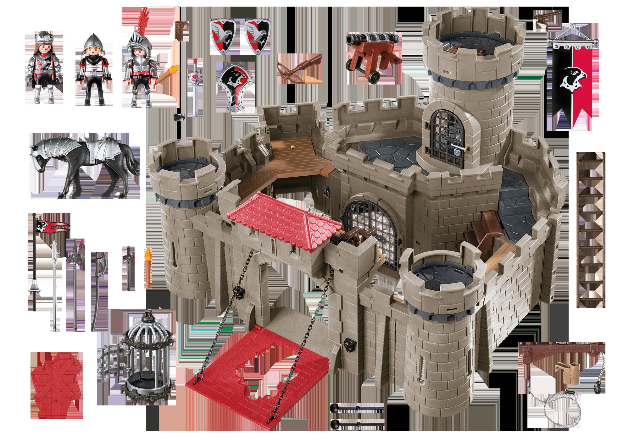 http://media.playmobil.com/i/playmobil/6001_product_box_back/Hawk Knights` Castle