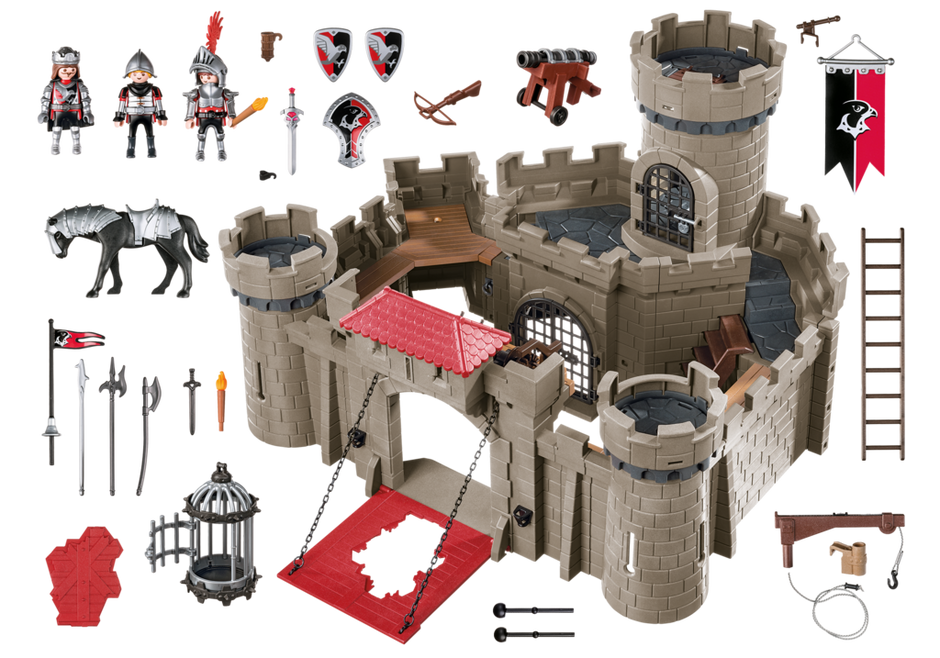 hawk knights castle 6001 playmobil usa. Black Bedroom Furniture Sets. Home Design Ideas