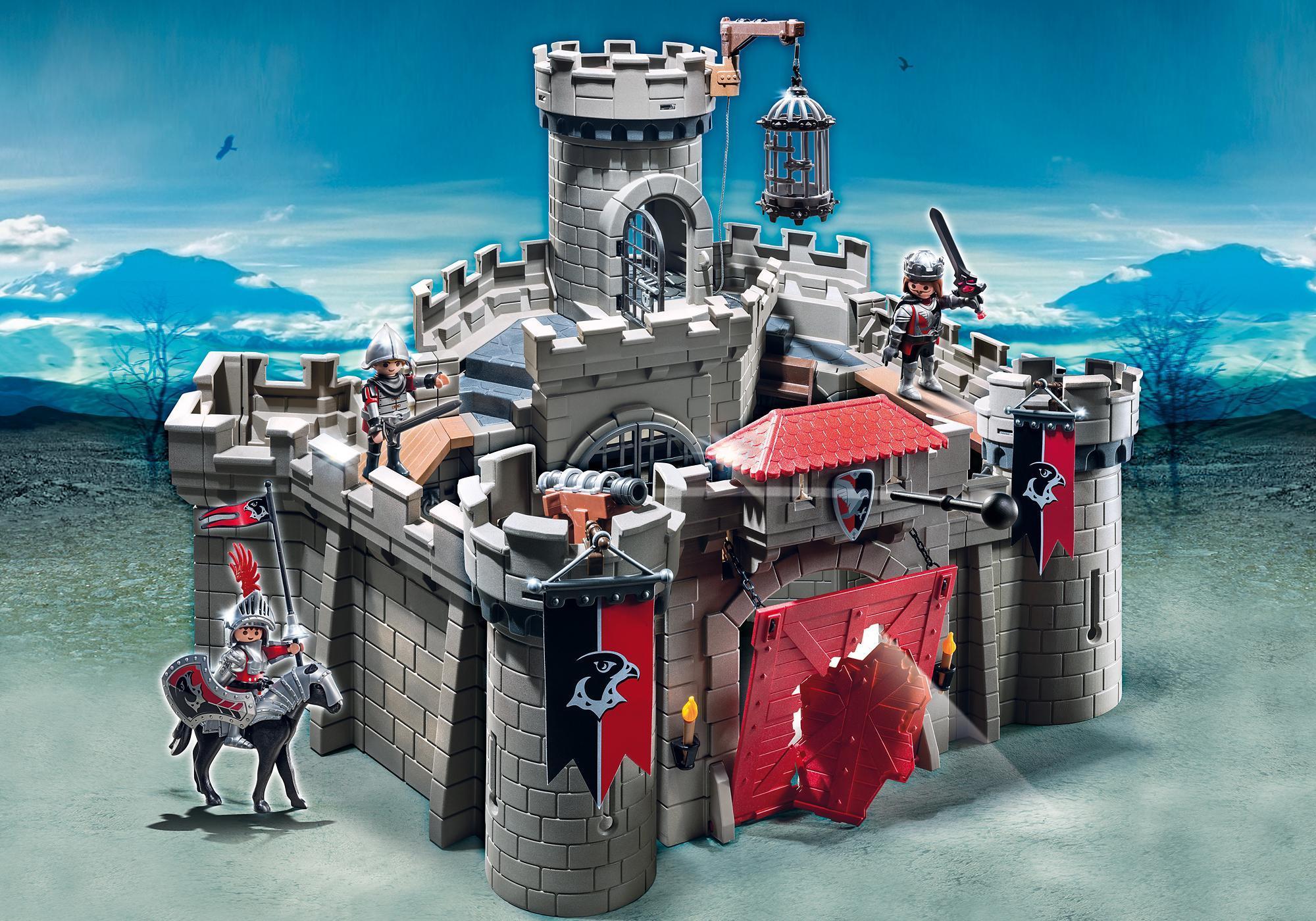 http://media.playmobil.com/i/playmobil/6001_product_detail/Рыцари: Замок Рыцарей Ястреба