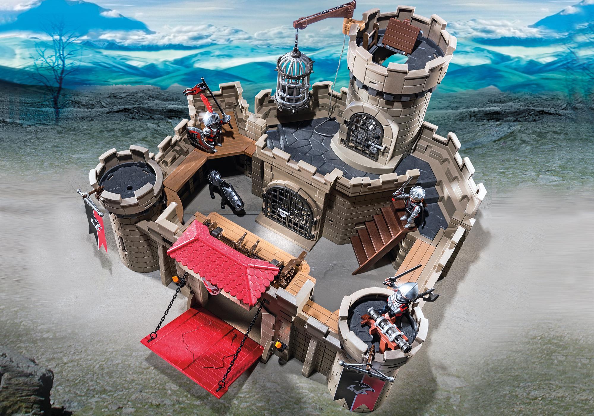 http://media.playmobil.com/i/playmobil/6001_product_extra1/Рыцари: Замок Рыцарей Ястреба