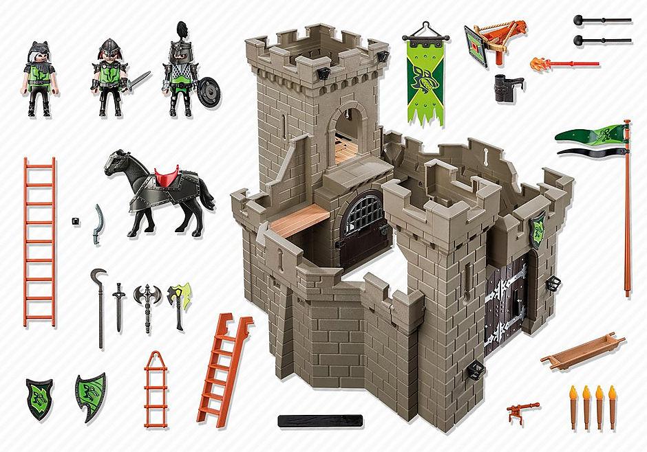 http://media.playmobil.com/i/playmobil/6002_product_box_back/Рыцари: Замок Рыцарей Волка