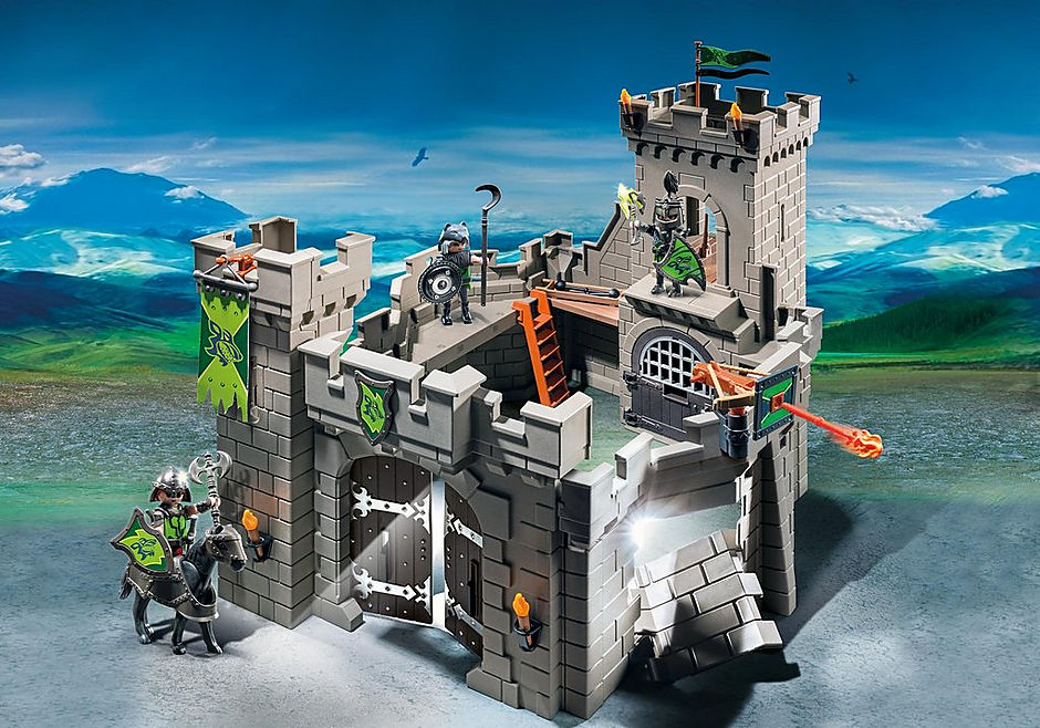http://media.playmobil.com/i/playmobil/6002_product_detail/Рыцари: Замок Рыцарей Волка