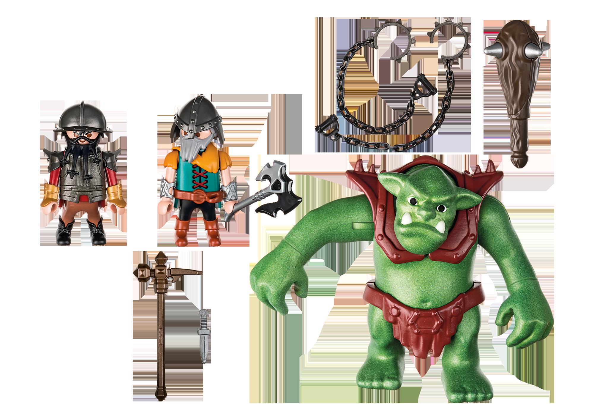http://media.playmobil.com/i/playmobil/6004_product_box_back/Рыцари: Гигантский троль и боевые гномы