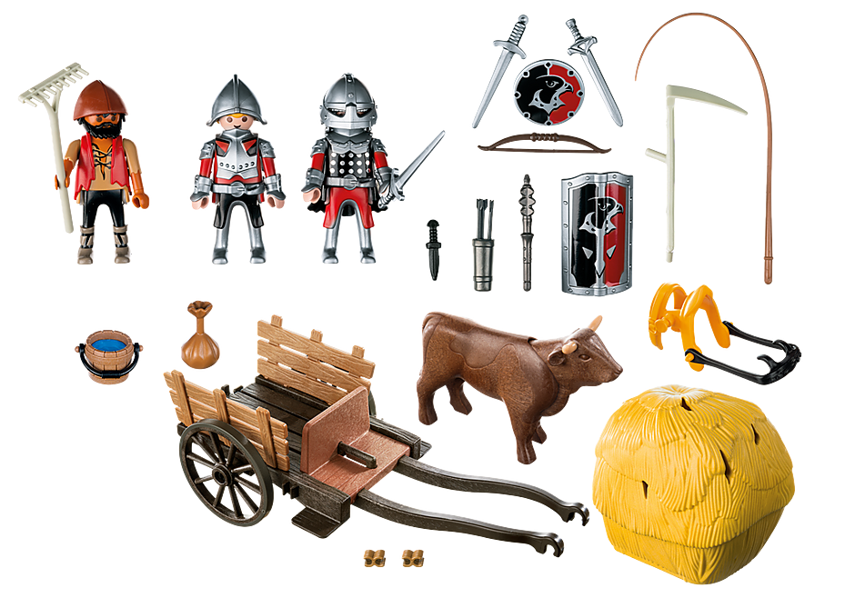 http://media.playmobil.com/i/playmobil/6005_product_box_back/Рыцари: Рыцари Сокола с камуфляжной повозкой
